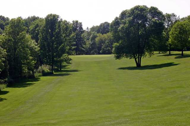 A view from a fairway at Meadow Links Golf Club