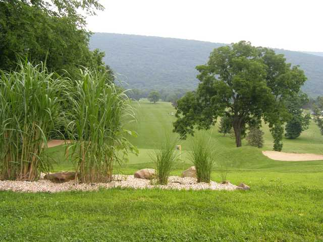 A view of the oldest Par 6 in Pennsylvania at American Legion Country Club