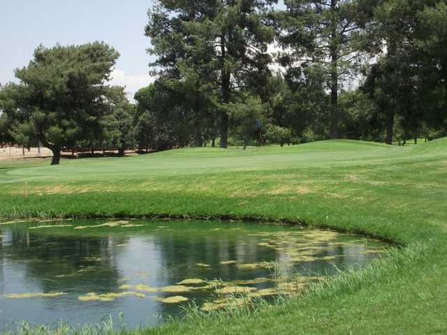 A view of green #5 at Paradise Knolls