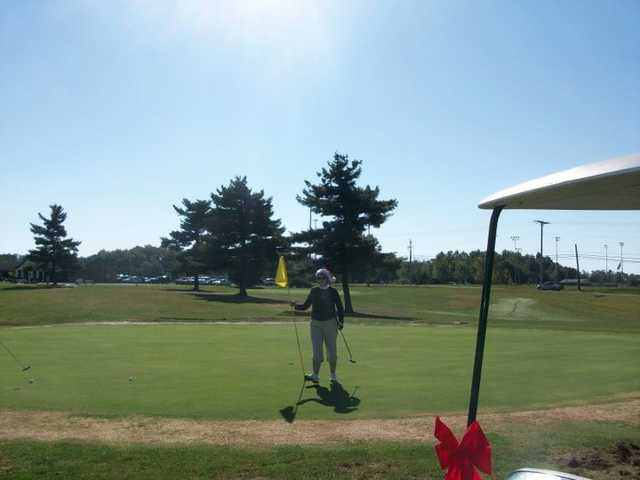 A view of a green at Forest Hills Golf Course (Terri Perry)