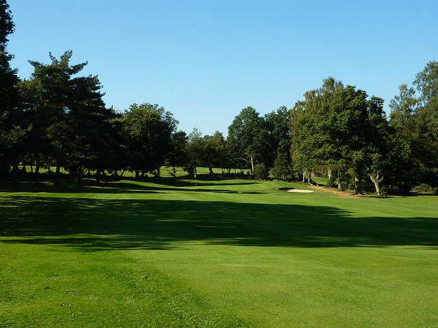 A view from fairway #7 at Puttenham Golf Club