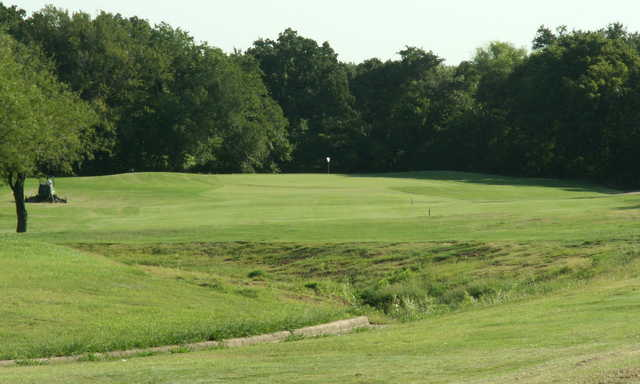 A view of a hole at Mountain Valley Country Club