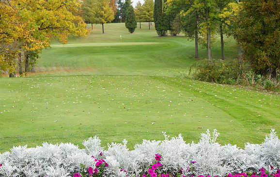 A view of a hole at Sheboygan Town & Country Golf Club