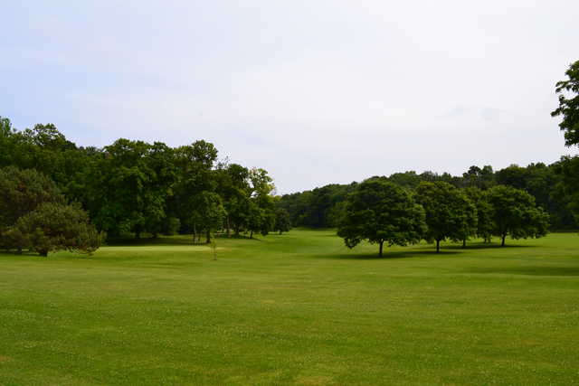 A view from Washington Park Golf Course