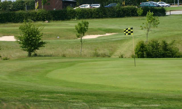A view of a hole at Rutland County Golf Club