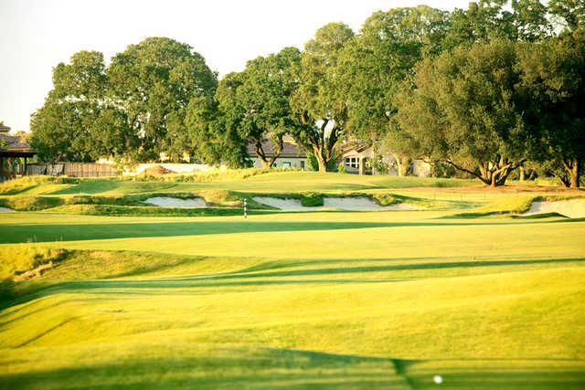 A view of green at Morgan Creek Golf and Country Club