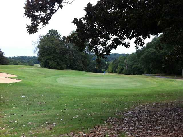 A view of a  green at Chastain Park Golf Course