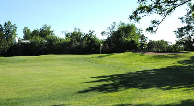 A view of the 13th green at Salina Country Club.