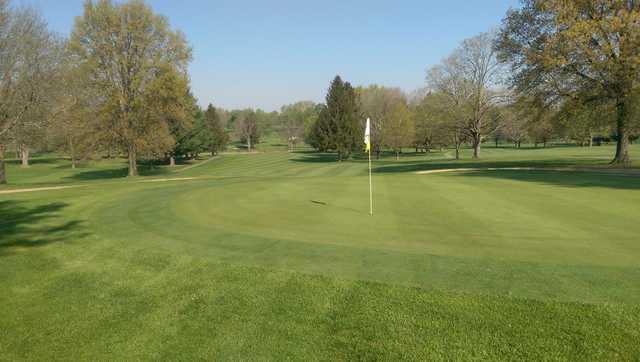 A view of hole #4 at Ashland Golf Club