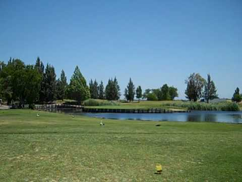 A view of the 17th green at Bartley Cavanaugh Golf Course