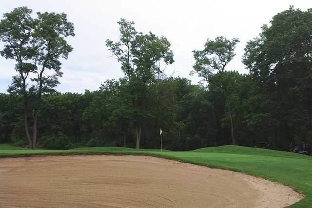 A view of green #11 at Berkleigh Golf Club