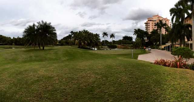 A view from Deering Bay Yacht & Country Club