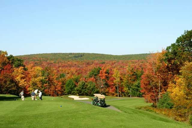 Fall view from Split Rock Resort & Golf Club