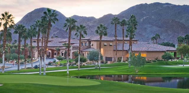 A view of a hole at Ironwood Country Club
