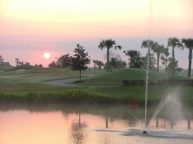 A view over the water from Lakewood Ranch Golf & Country Club
