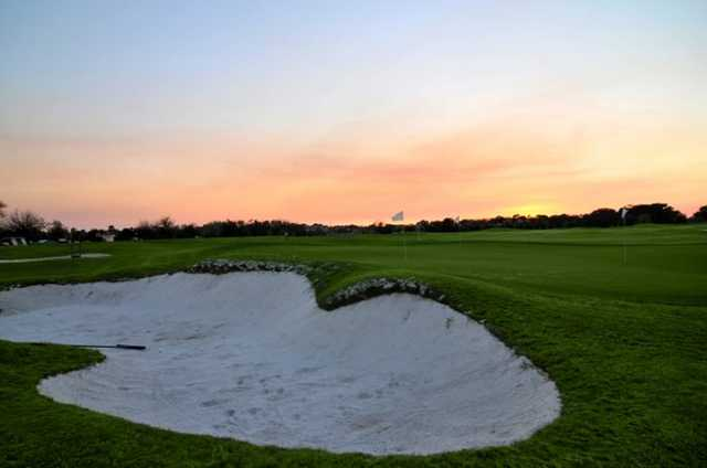 A view of a green at Lakewood Ranch Golf & Country Club.