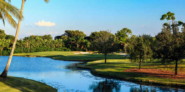 A view over the water from PGA National Resort & Spa