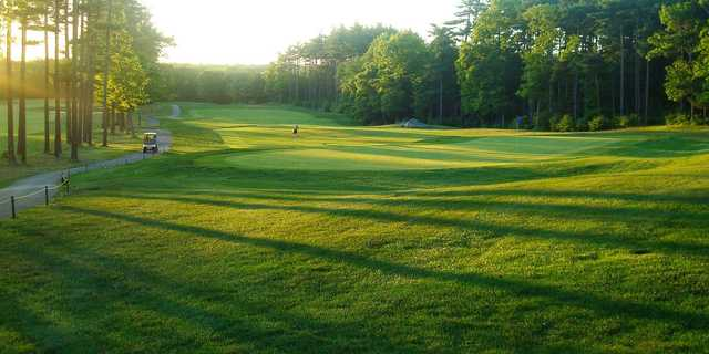 A sunnt day view from Acushnet River Valley Golf Course