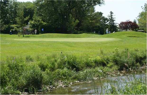 A view over the water from Rockway Golf Club