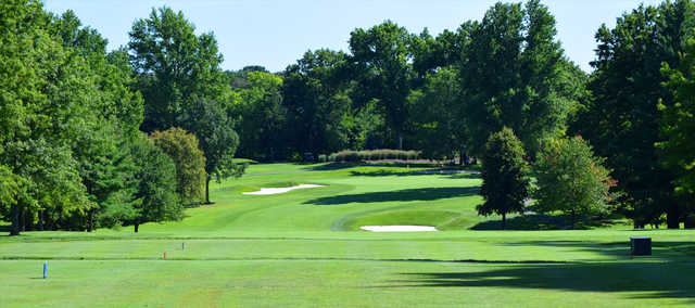 A view from a tee at Beechmont Country Club