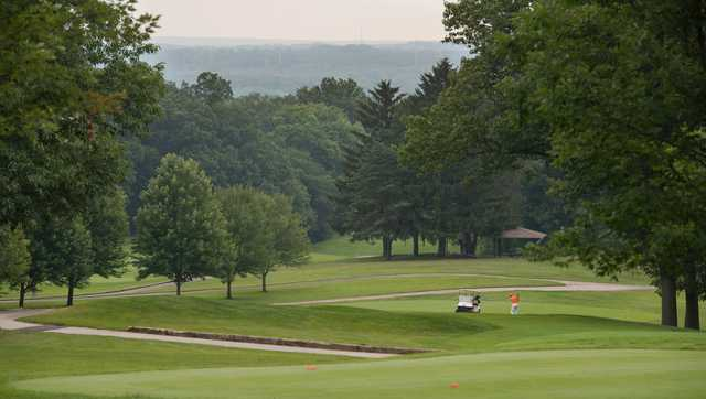 A view from a tee at Sleepy Hollow Golf Course