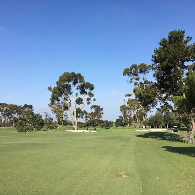 A view from the 5th fairway at San Diego Country Club
