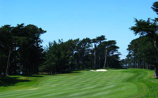 A view from fairway #14 at Harding Course from TPC Harding Park