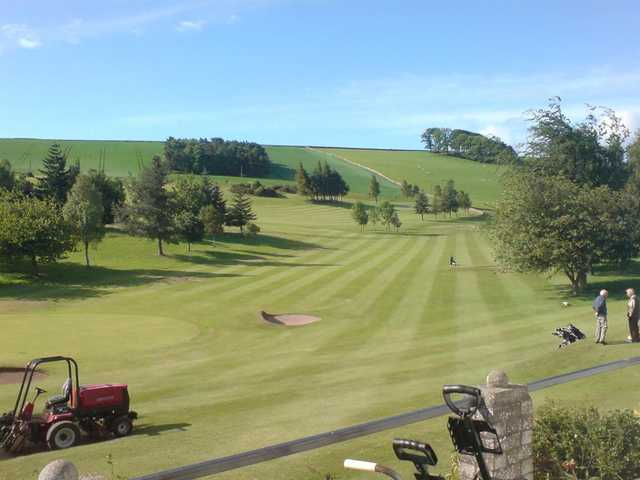A view from Cupar Golf Club