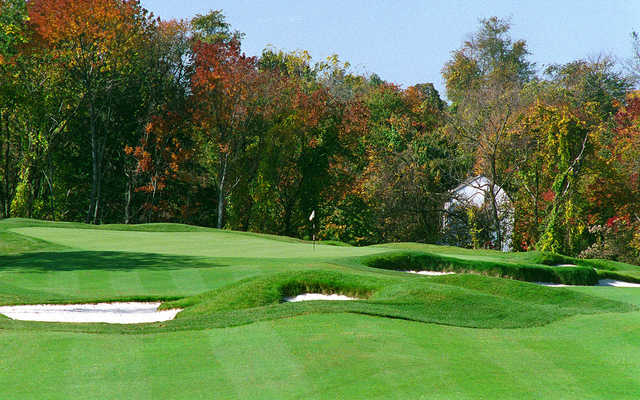 A fall day view from The Golf Course At Glen Mills