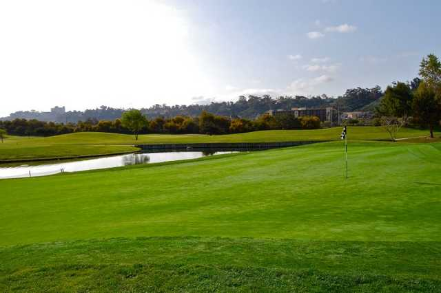 A view of the 4th green at Friars Course from Riverwalk Golf Club (Patrick Diaz)