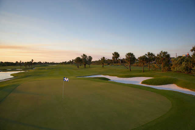 A view of a hole at Oceanside Golf & Country Club