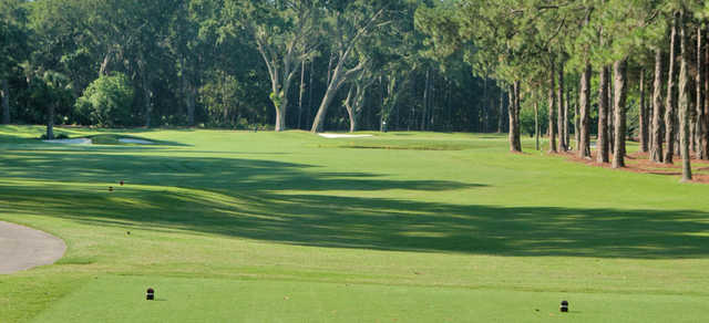 A view from a tee at Timuquana Country Club