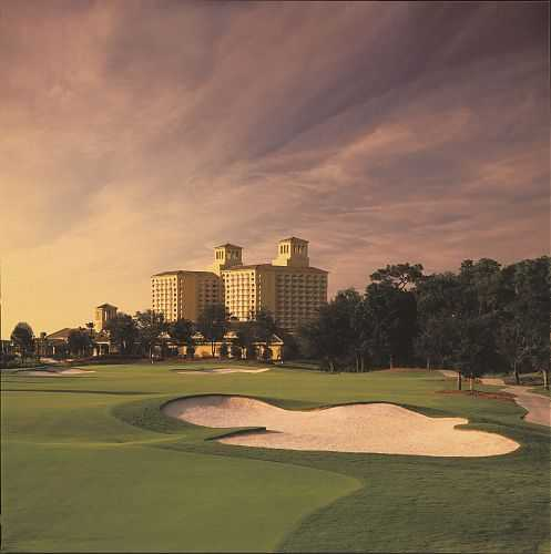 A view from The Ritz-Carlton Golf Club, Orlando, Grande Lakes