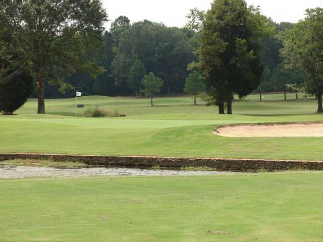 A view of a green at Goose Pond Colony Resort