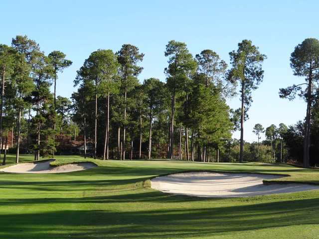 A sunny day view of a hole at Santee Cooper Country Club