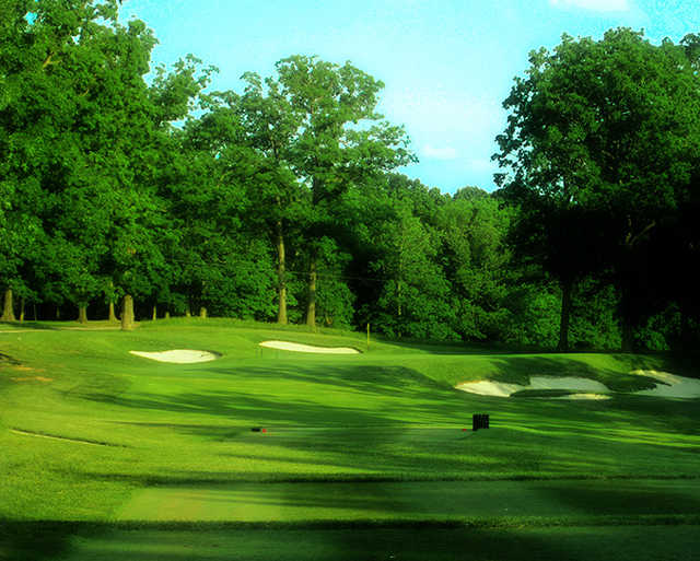 A view from tee #4 at University of Maryland Golf Course