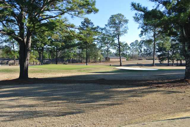 A view of a hole at Waynesboro Country Club