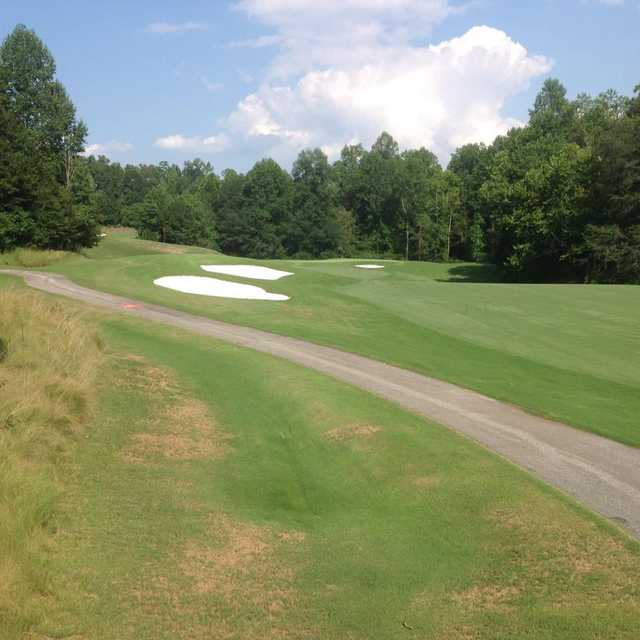 A view of the 3rd fairway at Walker Golf Course At Clemson University