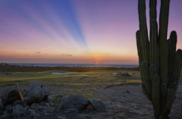 Sunrise view from Tierra del Sol Resort & Golf