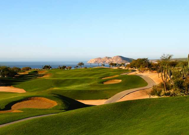 A view of a fairway at Cabo Real Golf Club