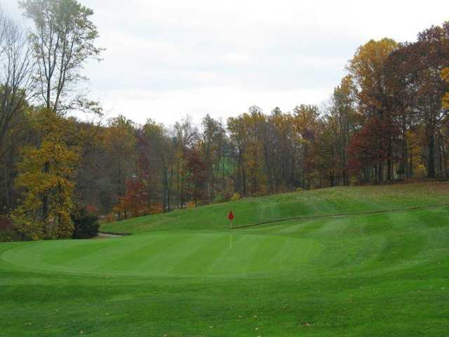 A fall day view from Manor Golf Course