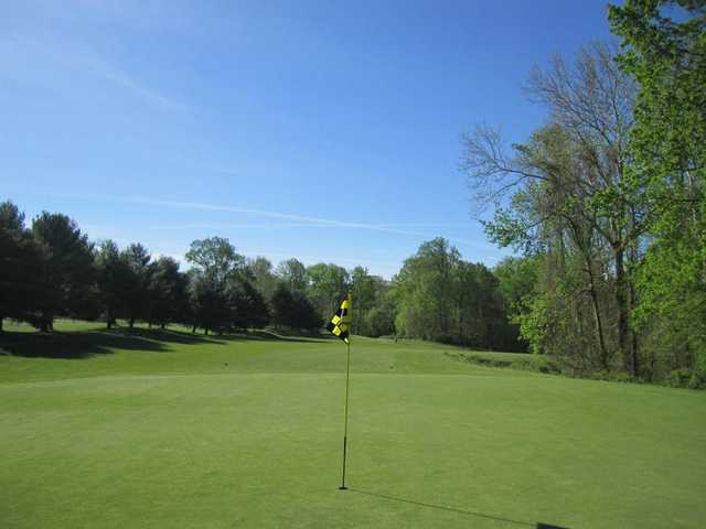 A view of the 7th green at Middletown Country Club