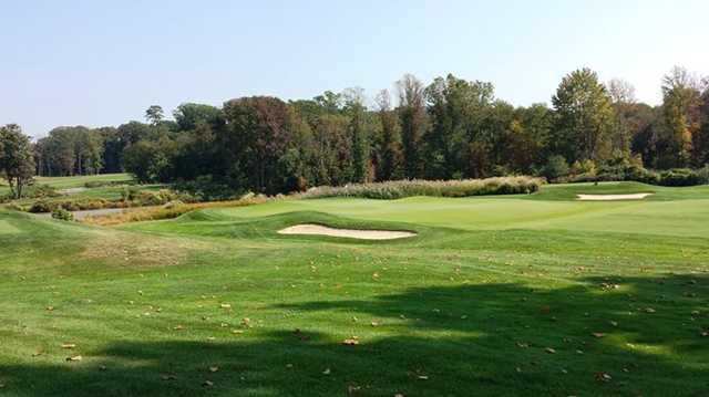 A view of hole #12 at Tavistock Country Club
