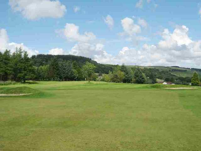View of the 13th hole at Caldwell Golf Club
