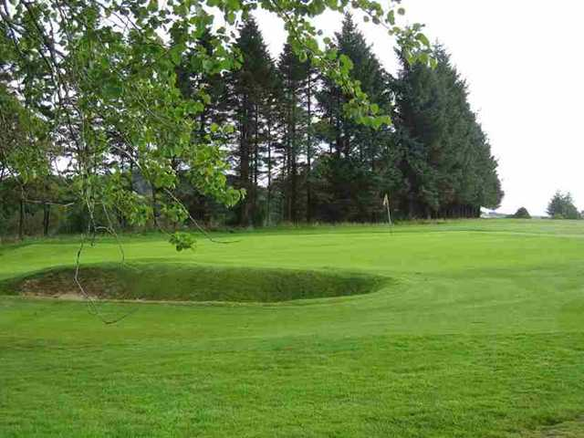 View of the 12th hole at Caldwell Golf Club