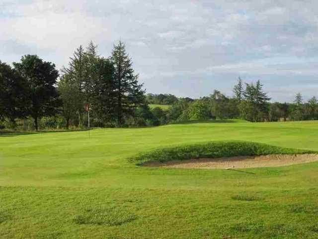 View of the 1st hole at Caldwell Golf Club