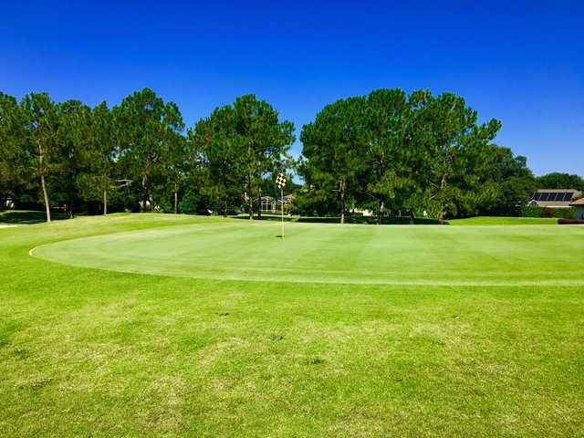 View of the 14th green at The Country Club of Mount Dora