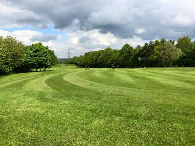A view of a hole at Bradley Park Golf Club
