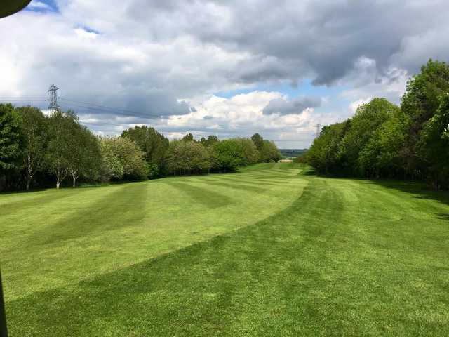 A view of a fairway at Bradley Park Golf Club