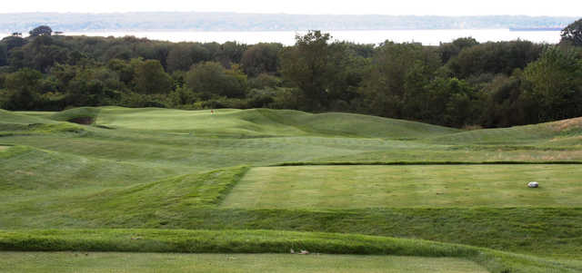 A view from a tee at The Aquidneck Club